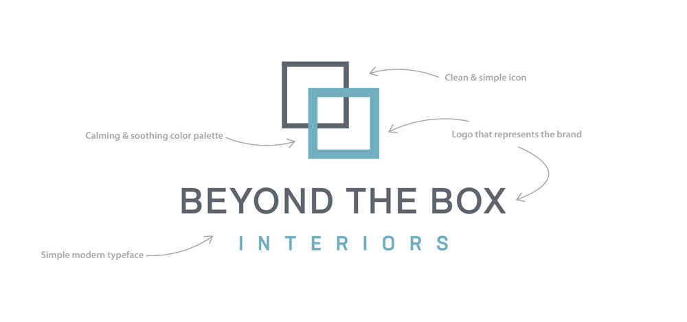 Beyond the Box Interiors new logo
