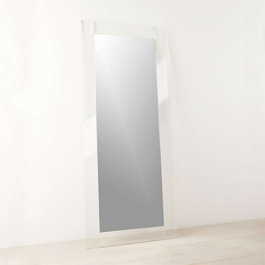 Acrylic Floor Mirror