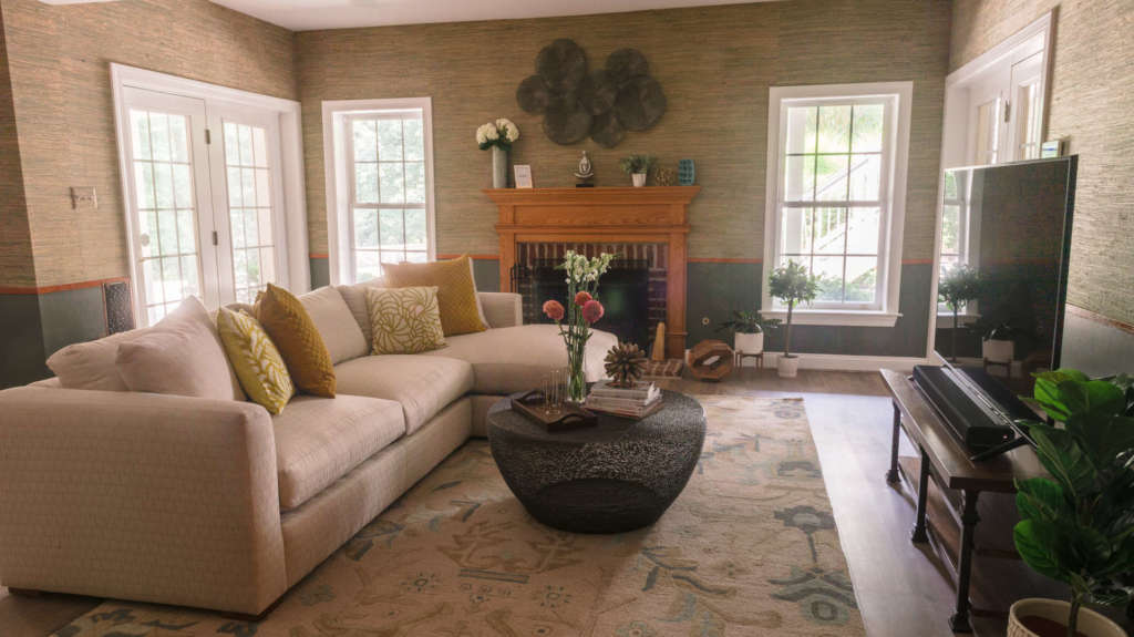 Living Room Design Gaithersburg Maryland